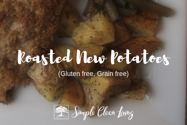 Roasted New Potatoes from Simplecleanliving.com
